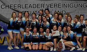 300Brilliants Deutscher Meister 2017 Junior Allgirl